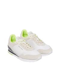 weiße niedrige Sneakers von Marc O'Polo
