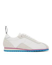 weiße niedrige Sneakers von MM6 MAISON MARGIELA