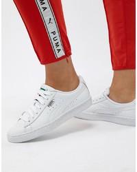 weiße niedrige Sneakers von Puma