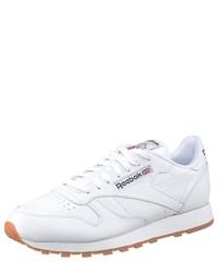 weiße niedrige Sneakers von Reebok Classic
