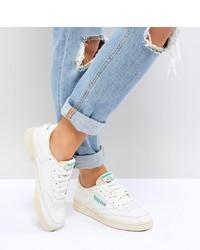 weiße niedrige Sneakers von Reebok