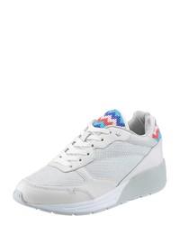 weiße niedrige Sneakers von Replay