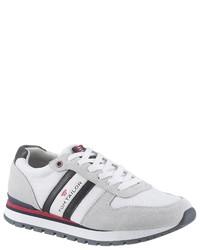 weiße niedrige Sneakers von Tom Tailor