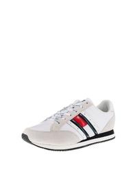 weiße niedrige Sneakers von Tommy Jeans