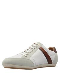 weiße niedrige Sneakers