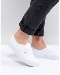weiße niedrige Sneakers von Vans