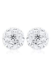 weiße Ohrringe von Ornami