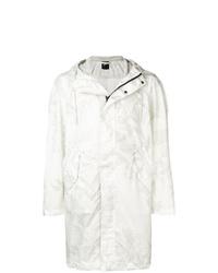 156f5fa19e0eb7 Modische weiße Regenjacke für Herren für Winter 2019 kaufen ...