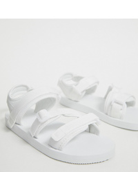 weiße Sandalen von ASOS DESIGN