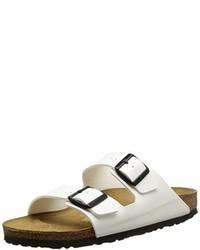 Modische weiße Sandalen für Damen bei für Winter