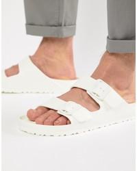 weiße Sandalen von Birkenstock