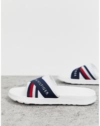 weiße Sandalen von Tommy Hilfiger