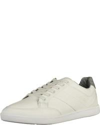 weiße Segeltuch niedrige Sneakers von Boxfresh