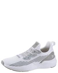 weiße Segeltuch niedrige Sneakers von Bugatti