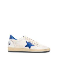 weiße Segeltuch niedrige Sneakers von Golden Goose Deluxe Brand