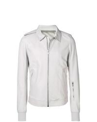 weiße Shirtjacke von Rick Owens