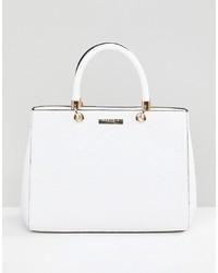 weiße Shopper Tasche aus Leder von Carvela