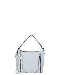 weiße Shopper Tasche aus Leder von Gabor