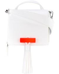 weiße Shopper Tasche aus Leder von Kenzo
