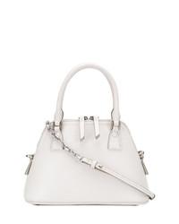 weiße Shopper Tasche aus Leder von Maison Margiela