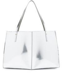 weiße Shopper Tasche aus Leder von Maiyet