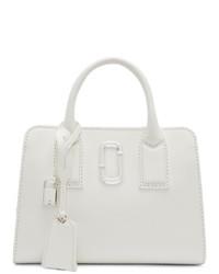weiße Shopper Tasche aus Leder von Marc Jacobs