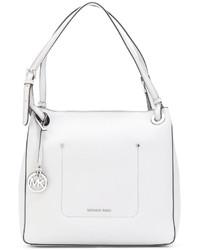 weiße Shopper Tasche aus Leder von MICHAEL Michael Kors