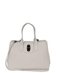 weiße Shopper Tasche aus Leder von POON Switzerland