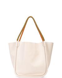 weiße Shopper Tasche aus Leder von Proenza Schouler