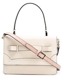 weiße Shopper Tasche aus Leder von RED Valentino