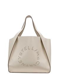 weiße Shopper Tasche aus Leder von Stella McCartney