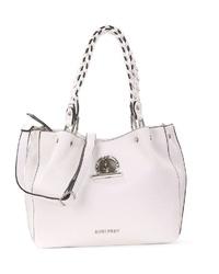 weiße Shopper Tasche aus Leder von SURI FREY