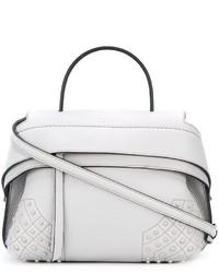 weiße Shopper Tasche aus Leder von Tod's