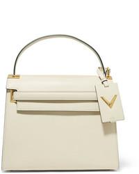 weiße Shopper Tasche aus Leder von Valentino