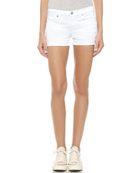 weiße Shorts von 7 For All Mankind