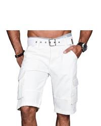 weiße Shorts von Alessandro Salvarini