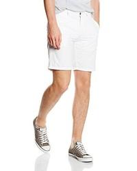 weiße Shorts von Bugatti