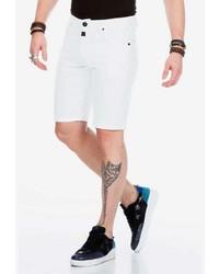 weiße Shorts von Cipo & Baxx