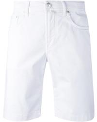 weiße Shorts von Jacob Cohen