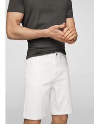 weiße Shorts von Mango Man