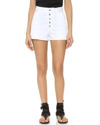 weiße Shorts von Rag & Bone