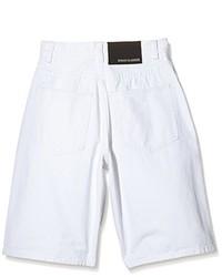 weiße Shorts von Urban Classics