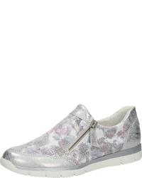 weiße Slip-On Sneakers aus Segeltuch von Bama