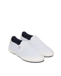 weiße Slip-On Sneakers von Marc O'Polo