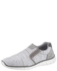 weiße Slip-On Sneakers von Rieker