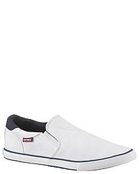 weiße Slip-On Sneakers von Tom Tailor