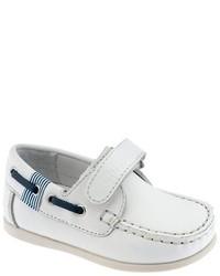 weiße Slipper