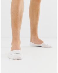 weiße Sneakersocken von Calvin Klein