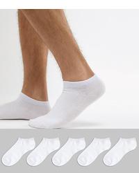 weiße Sneakersocken von Jack & Jones