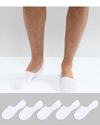 weiße Sneakersocken von New Look